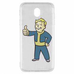 Чехол для Samsung J7 2017 Fallout Boy
