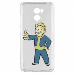 Чехол для Xiaomi Redmi 4 Fallout Boy