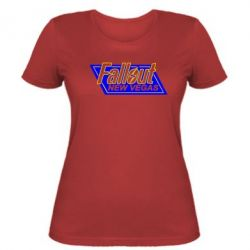 Женская футболка Fallout New Vegas - FatLine