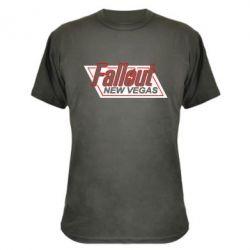Камуфляжная футболка Fallout New Vegas