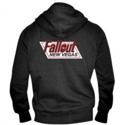 Мужская толстовка на молнии Fallout New Vegas - FatLine