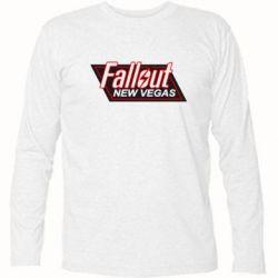 Футболка с длинным рукавом Fallout New Vegas - FatLine