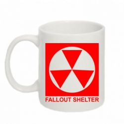 Кружка 320ml Fallout Shelter