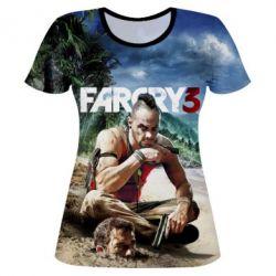 821bca7b904e Женские футболки Far Cry - купить в Киеве, низкая цена, доставка по ...