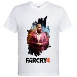 Чоловіча футболка з V-подібним вирізом far cry 4 Pagan Min