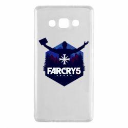Чохол для Samsung A7 2015 Far cry 5 silhouette Joseph Seed
