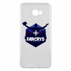 Чохол для Samsung J4 Plus 2018 Far cry 5 silhouette Joseph Seed