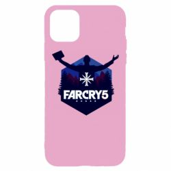 Чохол для iPhone 11 Pro Max Far cry 5 silhouette Joseph Seed