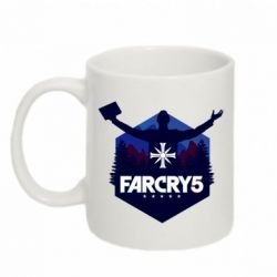 Кружка 320ml Far cry 5 silhouette Joseph Seed