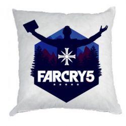 Подушка Far cry 5 silhouette Joseph Seed