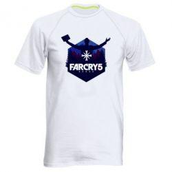 Чоловіча спортивна футболка Far cry 5 silhouette Joseph Seed