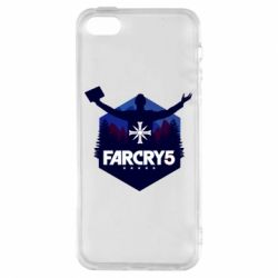 Чохол для iphone 5/5S/SE Far cry 5 silhouette Joseph Seed