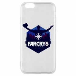 Чохол для iPhone 6/6S Far cry 5 silhouette Joseph Seed