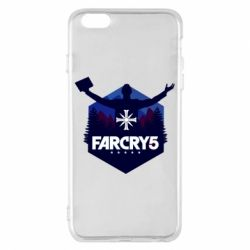 Чохол для iPhone 6 Plus/6S Plus Far cry 5 silhouette Joseph Seed