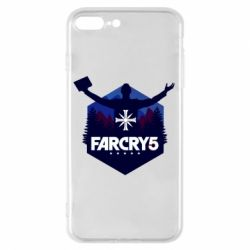 Чохол для iPhone 8 Plus Far cry 5 silhouette Joseph Seed