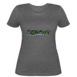 Женская футболка Far Cry Island