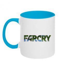 Кружка двухцветная 320ml Far Cry Island