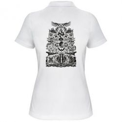Жіноча футболка поло Far cry tattoo