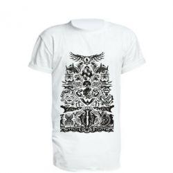Подовжена футболка Far cry tattoo