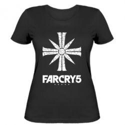 Жіноча футболка FarCry 5 logo