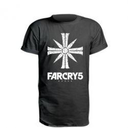 Подовжена футболка FarCry 5 logo