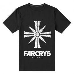 Чоловіча стрейчева футболка FarCry 5 logo