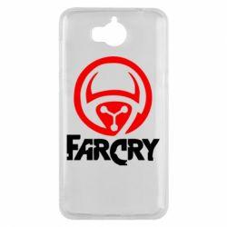 Чехол для Huawei Y5 2017 FarCry LOgo - FatLine