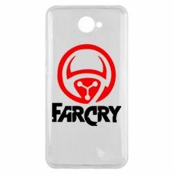 Чехол для Huawei Y7 2017 FarCry LOgo - FatLine