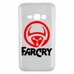 Чехол для Samsung J1 2016 FarCry LOgo - FatLine