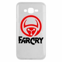 Чехол для Samsung J7 2015 FarCry LOgo - FatLine