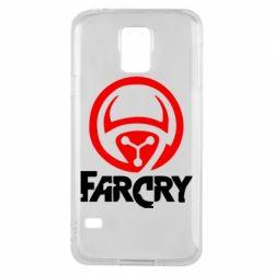 Чехол для Samsung S5 FarCry LOgo - FatLine