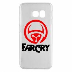 Чехол для Samsung S6 EDGE FarCry LOgo - FatLine