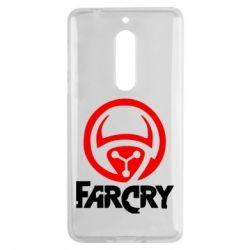 Чехол для Nokia 5 FarCry LOgo - FatLine
