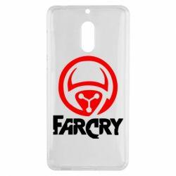 Чехол для Nokia 6 FarCry LOgo - FatLine