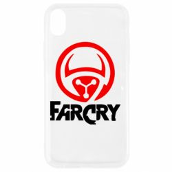 Чехол для iPhone XR FarCry LOgo - FatLine