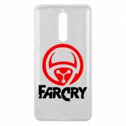 Чехол для Nokia 8 FarCry LOgo - FatLine