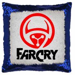 Подушка-хамелеон FarCry LOgo