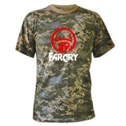 Камуфляжная футболка FarCry LOgo - FatLine