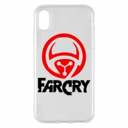 Чехол для iPhone X FarCry LOgo - FatLine