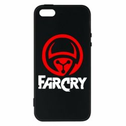 Чехол для iPhone5/5S/SE FarCry LOgo - FatLine