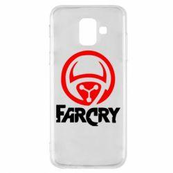 Чехол для Samsung A6 2018 FarCry LOgo - FatLine