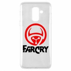 Чехол для Samsung A6+ 2018 FarCry LOgo - FatLine