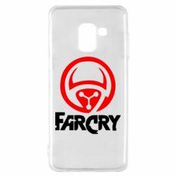 Чехол для Samsung A8 2018 FarCry LOgo - FatLine