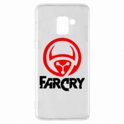 Чехол для Samsung A8+ 2018 FarCry LOgo - FatLine