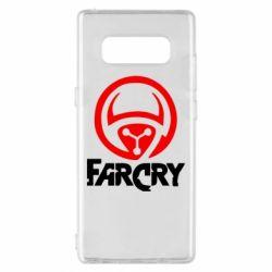 Чехол для Samsung Note 8 FarCry LOgo - FatLine