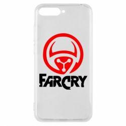 Чехол для Huawei Y6 2018 FarCry LOgo - FatLine