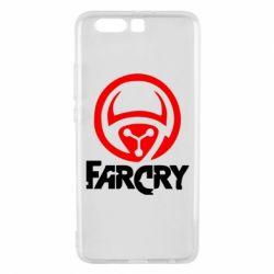 Чехол для Huawei P10 Plus FarCry LOgo - FatLine