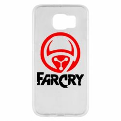 Чехол для Samsung S6 FarCry LOgo - FatLine