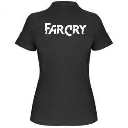Женская футболка поло FarCry - FatLine