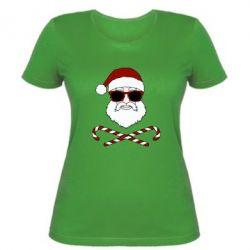 Жіноча футболка Fashionable Santa
